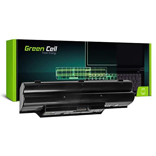 Green Cell® Standard Serie FPCBP250 Laptop Akku für Fujitsu LifeBook A530 A531 AH530 AH531 (6 Zellen 4400mAh 10.8V Schwarz)