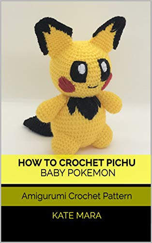 Marill Pokemon Amigurumi Free Crochet Pattern | DailyCrochetIdeas | 500x314