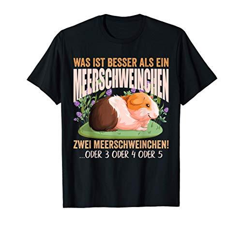 Meerschwein Meerschweinchen Fan Guinea Pig Geschenk-Idee T-Shirt
