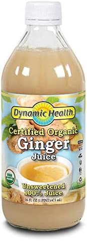 Dynamic Health Ginger Juice Organic 16 oz product image