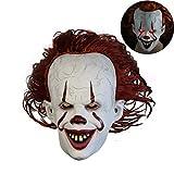 Neborn Joker Pennywise Maske Stephen König Es Kapitel Zwei 2 Horror Cosplay Latex Masken Helm Clown...