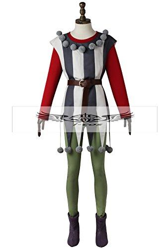 【i-cos】 ドラゴンクエストXI(ドラクエ11) シルビア コスプレ衣装 変装 仮装 コスチューム (M, 女性)