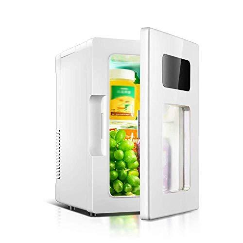 NLRHH Refrigeradores de Bebidas Refrigerador Compacto con Mini refrigerador, refrigerador de Bebidas de Cerveza pequeña para hogar, Oficina, Dormitorio o RV (Blanco) Peng