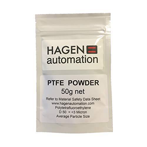 Hagen Automation 50g PTFE poeder smeermiddel voor cyclus keten waxen - 3 Micron APS