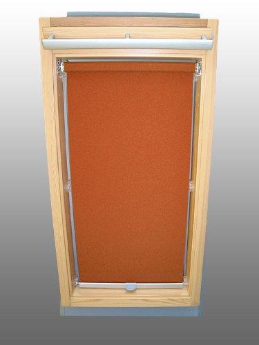 Sichtschutzrollo Rollo für Velux RHL-EP GGL,GPL,GHL,GTL 102 terracotta