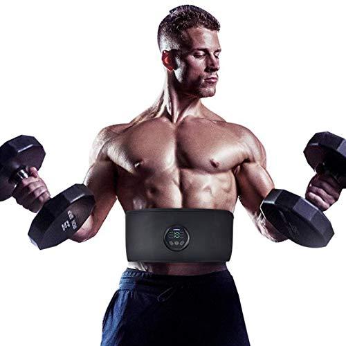 ASHTRAY EMS Fitness Trainer Gürtel LED-Anzeige elektrischen Anreger Bauchmuskeln Sticker Trainingsgerät Hauptgymnastik-Ausrüstung