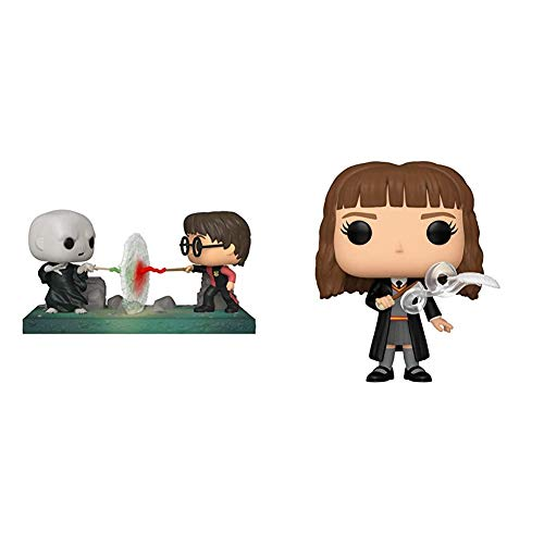 Funko Pop! Moment: Harry Potter - Harry VS Voldemort, Multicolor & Pop! Harry Potter: Harry Potter - Hermione with Feather, Multicolor image