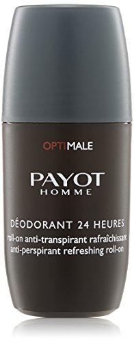 Payot Homme Optimale Déodorant 24H Roll-On Anti-Transpirant Rafraîchissant 75 ml