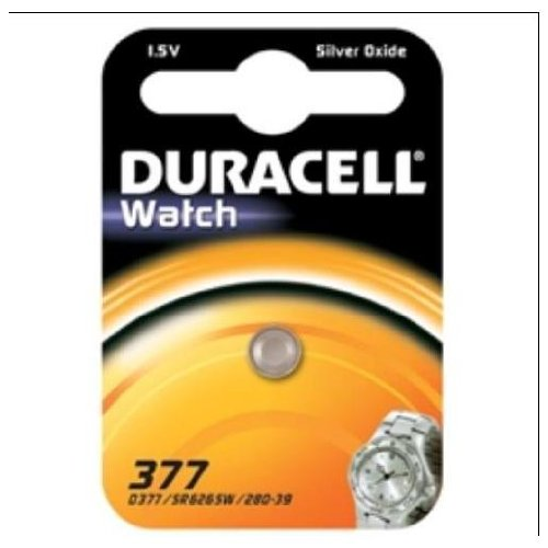 Duracell dur936830 Silver-Oxide 1.5 V Non-Rechargeable Battery – Non-Rechargeable Batteries (Silver-Oxide, Button/Coin, 1,5 V, 1 pc (s))