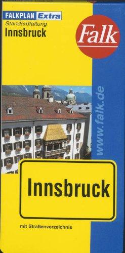 Falk Cityplan Extra Standardfaltung International Innsbruck mit Straßenverzeichnis