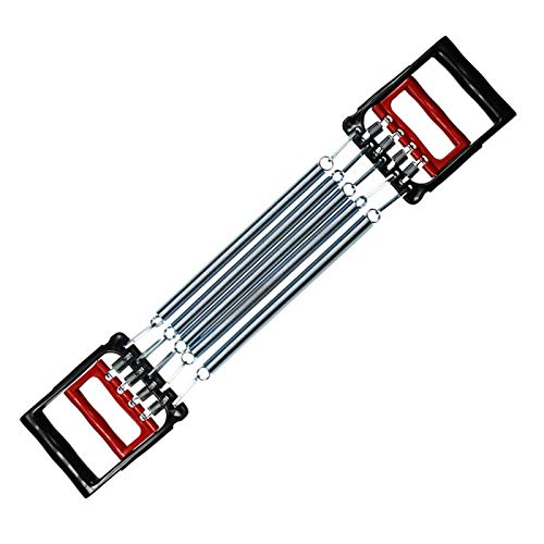 LXF JIAJU Gripper De Mano De Expansión De Pecho 5 Resortes Muscular Tirando Fuerza Ejerciter Fitness Multifunción Tirón Expansor
