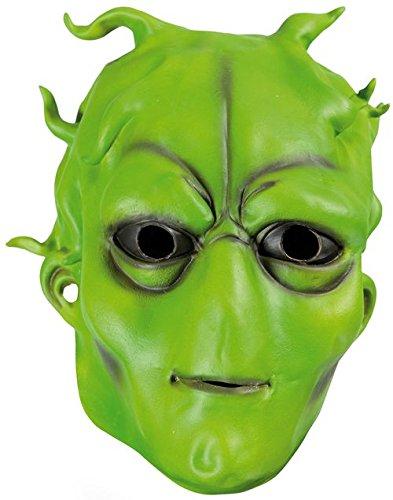 P'tit Clown- Déguisement - Masque Adulte Latex Intégral - Extra Terrestre, Unisex, 10323, Taille Unique