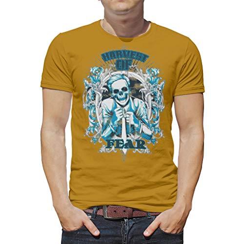 XJJ8 Unisex Gothic Style T-Shirts - Death Party Tie-Dye Top voor mannen en jongens