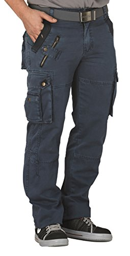 Planam 3013 Casual Mountain, Cargohose, Denim (48)