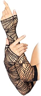Leg Avenue Women's Distressed Net Arm Warmer