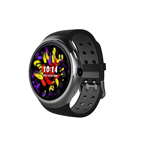 TPulling moda Smart Bracciale Z10intelligente orologio da polso Smart Watch Sport Outdoor Bluetooth WiFi GPS SIM per Android IOS Smart Bracciale Orologio Sportivo, argento