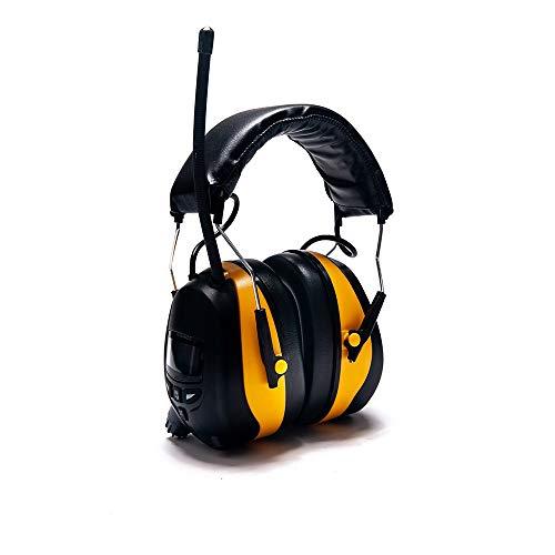 Preisvergleich Produktbild MICEROSHE Gehörschutz Ohrenschützer Schallschutz,  Schalldämmung,  Geräuschreduzierung,  Ohrenschützer,  Ruhe,  Bücher lesen,  Externe Audio-Kopfhörer,  Tragen (Farbe : Schwarz,  Größe : Free Size)