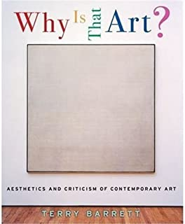 Why Is That Art? by Barrett, Terry. (Oxford University Press, USA,2007) [Paperback]