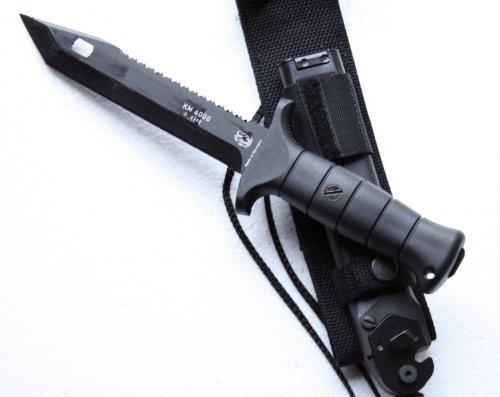 ab 18 Jahre Kampfmesser KM 4000, Rückkensäge, Drahtschneider