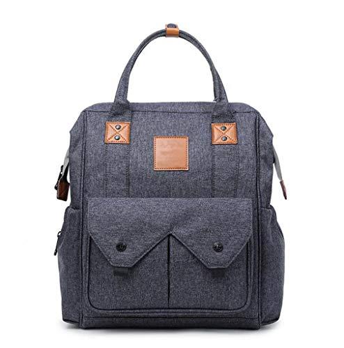 Multifunctionele wikkelrugzak voor baby's, grote capaciteit, schoudertas voor reizen, mode, outdoor, draagbaar, voor 39,6 cm (15,6 inch) laptoptas