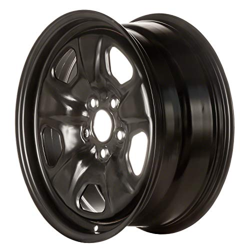 Multiple Manufactures STL05440U45 Black Wheel with Painted and Meets All Federal Motor Safety Standards (18 x 7.5 inches /5 x 120 mm, 0 mm Offset)