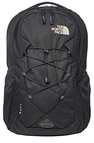 The North Face Women's Jester Backpack, Luxe TNF Black/Rose Gold, One Size