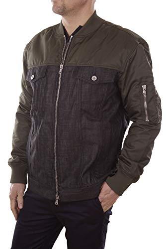 Diesel Black Gold Jaren Outerwear/Caban Herren College Jacke (M, Schwarz)