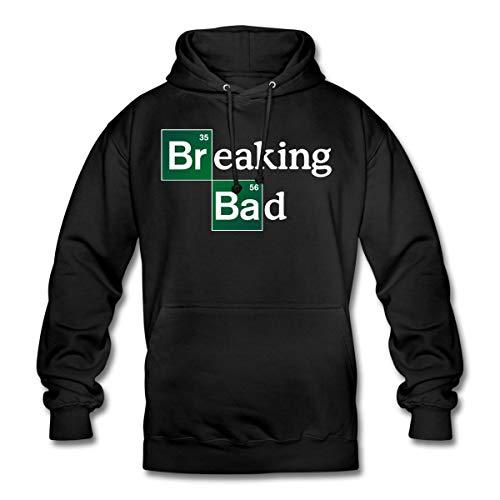 Spreadshirt Breaking Bad Logo Brom & Barium Unisex Hoodie, L, Schwarz