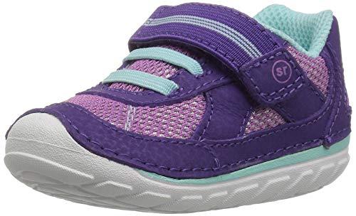 Stride Rite Girls' Soft Motion Jamie Sneaker, Purple, 3.5 XW US Toddler
