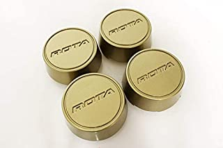 Rota Wheels Replacement Wheel Center Caps - Moda - Gold - Set of 4 Caps