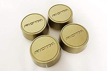Rota Wheels Replacement Wheel Center Caps - Moda - Gold - Set of 4 Caps