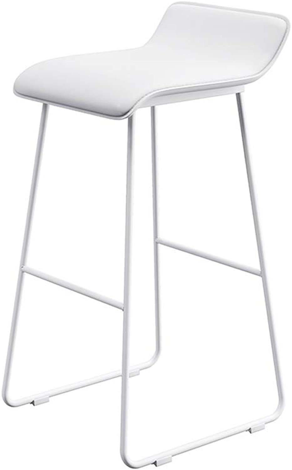 Aidriney- Bar stool, Coffee Lounge Stool, Wrought Iron Padded bar Chair, 5 colors, Size  65 cm   70 cm   75 cm (color   B, Size   L)