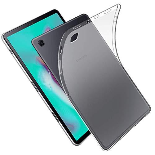 NUPO - Carcasa para Samsung Galaxy Tab S6 Lite 10.4 2020, ultrafina, transparente, de silicona TPU suave, para Galaxy Tab S6 Lite 10.4 SM-P610/P615 (blanco mate)