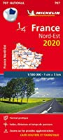 Northeastern France - Michelin National Map 707 (Michelin National Maps)
