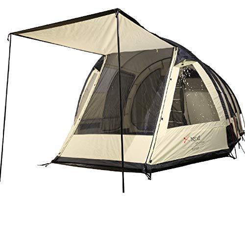 Xtend Adventure Sunset, Familienzelt, 6 Personen Camping-Zelt, Aluminium-Gestänge