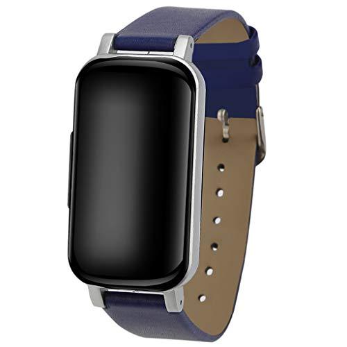 LQIAN Smart Watch Sport Fitness Kalorien Armband Ip67 Wasserdicht Tragen Smart Watch/Lederband/SchrittzäHler/Herzfrequenz/Schlaf Analyse / Ip67 / Mehrsprachige UnterstüTzung/Kompatibel mit Android Ios