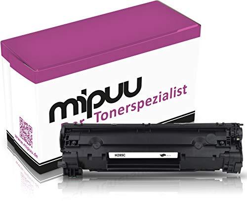 Mipuu Cartucho de tóner compatible con HP CE285A / 85A Black Negro para Laserjet M1132 mfp P1102w P1109w M1212nf M1217 nfw MFP Pro Professional