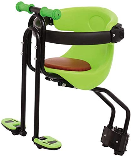 Best Review Of Kids Safety Seats Bike Front Seat with Armrest and Pedal for Child 1 Years to 4 Years...