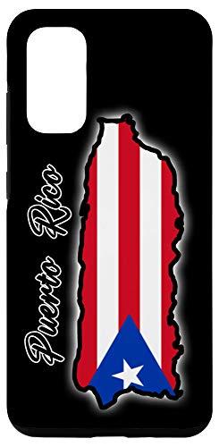 Galaxy S20 Mapa de Puerto Rico Con La Bandera Puerto Rico Flag Case Case