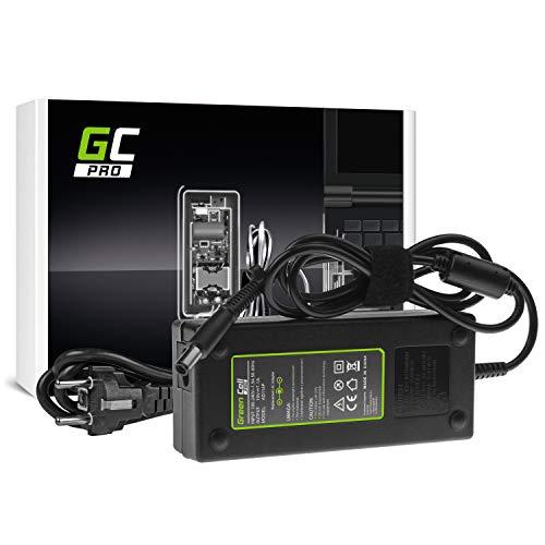 GC Pro Cargador para Portátil HP Compaq 6710b 6715b 6715s 6910p 8510p nc6400 nx6110 nx7300 nx7400 Ordenador Adaptador de Corriente (19V 7.1A 135W)