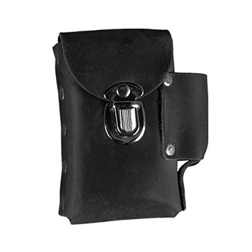 Hot Leathers CSB1008 Black 5' x 4' Leather Cigarette Case