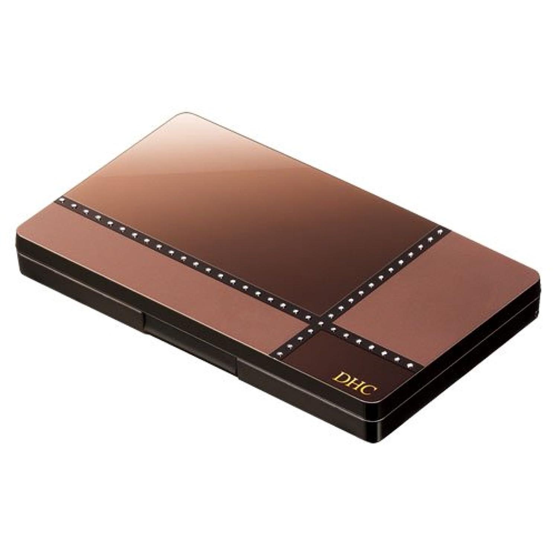 召集するストリップ写真撮影DHCパーフェクト アイシャドウパレット (GD06 ゴールドブラウン)