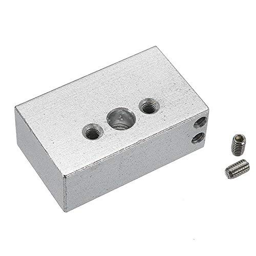 OperationCwrl Zortrax M200 Aluminum Alloy Hot End Heating Block for 3D Printer