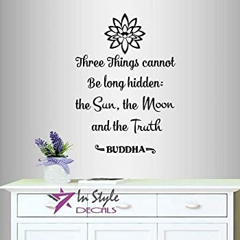 3.5 x 4 We Become Buddha Spiritual Small Bumper Sticker//Decal Coconut Creations What We Think with Lotus Flower