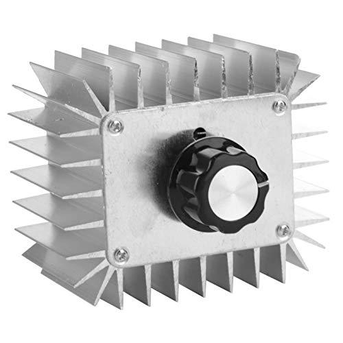 Regulador de velocidad del motor ajustable estable de alto rendimiento motor para aparatos eléctricos con carcasa de aluminio para ventilador de lámpara eléctrica