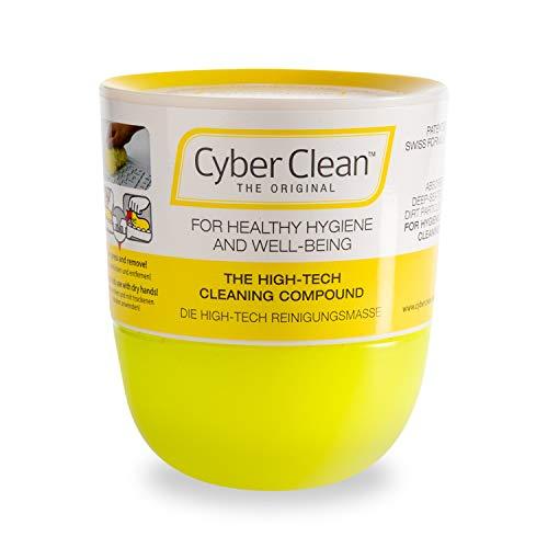 Cyber Clean Reinigungsmasse 160g | The Original | Tastaturreiniger, Mobiltelefon, Auto Innenraum | wiederverwendbares Staubreinigungsgel
