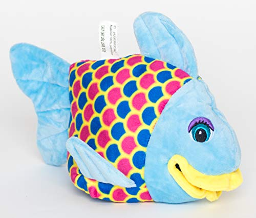 Regenbogenfisch, Handpuppe, ICHTYS, Theaterpuppe, Rainbow Fish, Puppet