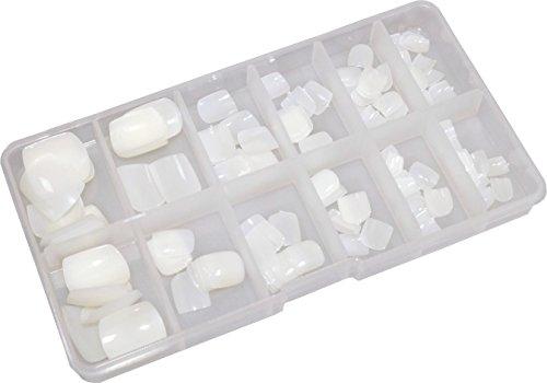 World of Nails-Design Toe-Nails Fußnägel Natur in Box 120 Stück
