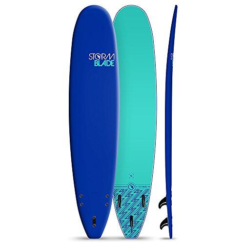 StormBlade 9ft Surfboard // Foam Wax Free Soft Top Longboard