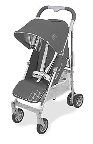 Maclaren WD1G260612 Techno arc, Silla de paseo, ligero, manillar unido para recién nacidos hasta los 25 kg, Asiento multiposición, suspensión en las 4 ruedas